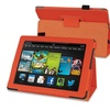 Insten Orange Stand Leather Case For Kindle Fire HD 7 2nd Gen 2013