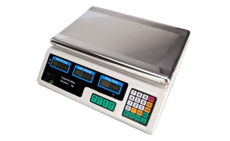 Digital Weight Scale 88LB Price Computing Meat Scale Produce Market 58b71a28-84f0-4cbc-a791-db1bb16fb5aa