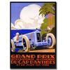 Grand Prix Ducap Dantibes Canvas Print 24 x 32