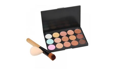 Natural Professional Concealer Palettes 15 Colors makeup Foundation 58642050-5f80-4ad2-ac96-502c9cc0e930