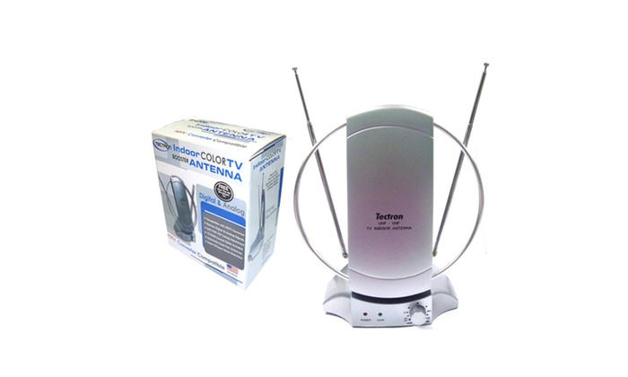 Buy It Now : TV Antenna Booster (HDTV Compatible) With Adjustable Dish