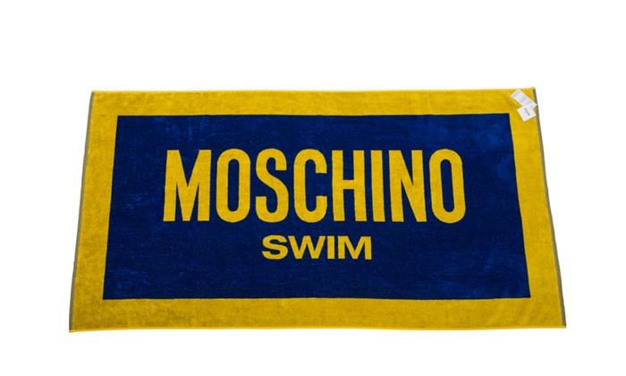 cool beach towel designs. MOSCHINO Designer Beach Pool Towel Authentic 33\ Cool Designs