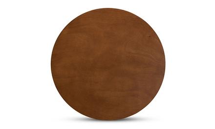 Kenji Round Wood Dining Table