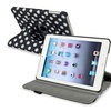 Insten Leather Stand Case For iPad Mini 3rd 2nd 1st, Black White Dot