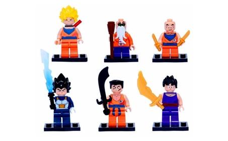 Dragon Ball Z Six Piece Minifigure Set a6005ac3-e615-4a61-bb47-ab763a2bd581