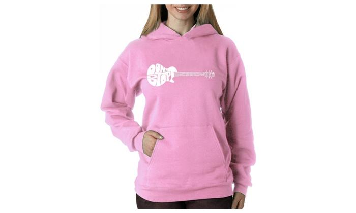 Women's Hooded Sweatshirt -Don't Stop Believin'