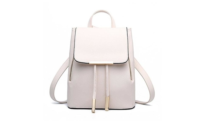 Casual Purse Fashion School Leather Backpack Shoulder Bag Mini Backpac