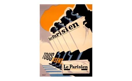 Artdeco Advertising Poster, Le Parisien - 24 x 36 77959a7d-21d0-4e48-871b-2eb23545e601