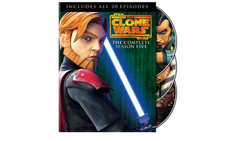 Star Wars: The Clone Wars: Season Five (Blu-Ray) f9914e98-33de-48fa-925c-654d808c79fd