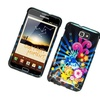 Insten Fireworks Hard Case For Samsung Galaxy Note LTE - Blue/Colorful
