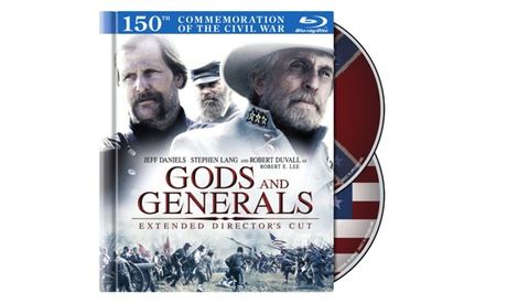 Gods and Generals: Extended Director's Cut (Blu-ray Book) 871fb720-6803-4345-832b-8daec18a91c2