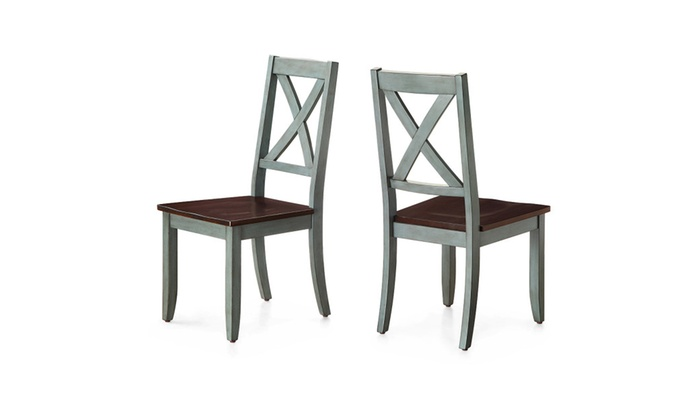 Better Homes And Gardens Maddox Crossing Dining Chair Blue Set Of 2 Groupon