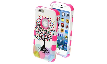 www iphone 6 insten for iphone 6s 6 4 7 quot tree electric pink hybrid 13328