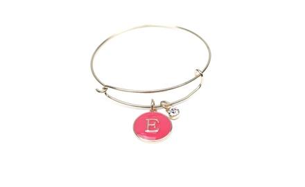 Beach Blue Personalized Bangle Bracelet