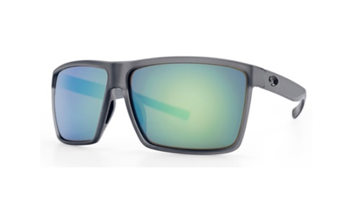 810c4a5e8d1a Costa Del Mar Rincon RIN 156 OGMGLP Smoke Crystal / Green Mirror 580G  Polarized