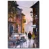 Ryan Radke Street Strolling in Greece Canvas Print