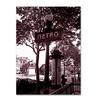 Kathy Yates 'Paris Metro and Kiosk 2' Canvas Art