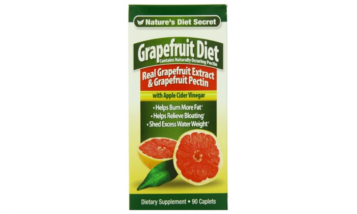 Grapefruit Extract Diet Pills with Apple Cider Vinegar and