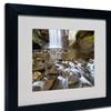 Pierre Leclerc 'Looking Glass Falls' Matted Framed Art