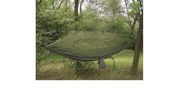 Snugpak Jungle Hammock with Mosquito Net In Olive
