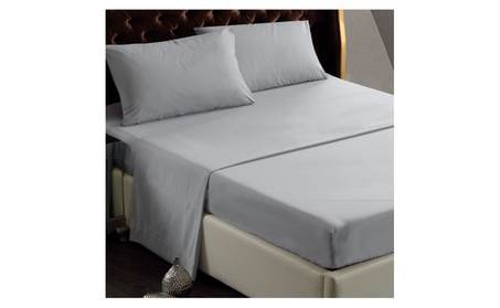 KAO Mart Luxury Collection Bed Sheet Set, Brushed Striped Microfiber 27a9ff36-02f8-4412-8bef-2599a4d63062