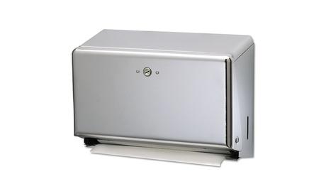 San Jamar Mini C-FoldMultifold Towel Dispenser, Chrome 09f6ec74-c58f-42c2-b8ba-eff52147dd90