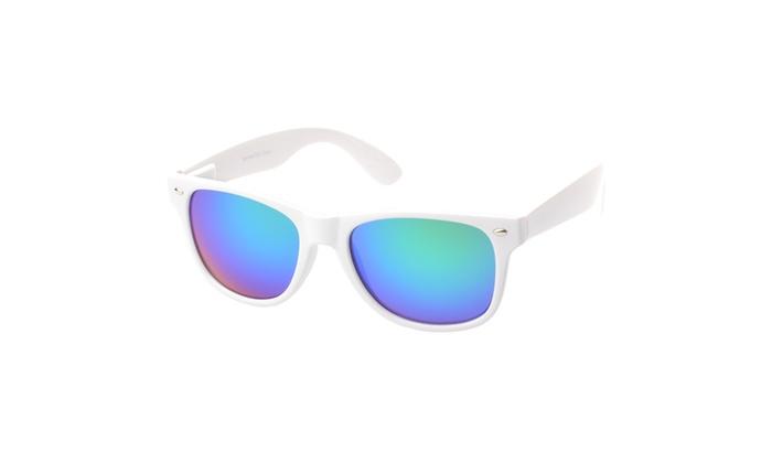 MLC Eyewear Retro Square Fashion Sunglasses RVWAY, Blue