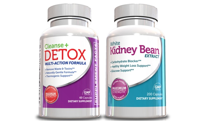 Buy It Now : White Kidney Bean Extract w Colon Cleanse and Detox Weight Loss Kit