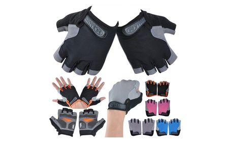 Outdoor Sports Half Finger 3D GEL Silicone Gloves 571ffed6-9247-48be-a56b-4a4347ea4a31