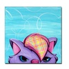 Sylvia Masek 'Kitty' Canvas Art