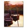 David Lloyd Glover Moment at Sunrise Canvas Print