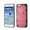 Insten Skullcap Hard Tpu Cover Case For Apple Iphone 6 6s Pink Black