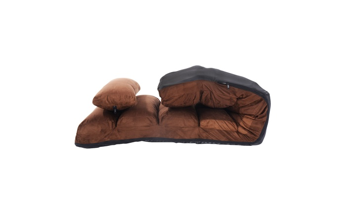 Up To 43% Off on Coffee Folding Lazy Sofa Chai... | Groupon ...