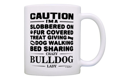 Dog Lover Gifts Bulldog Gift Coffee Mug Tea Cup 44113104-96a0-4ae6-960a-17aaa4db346a