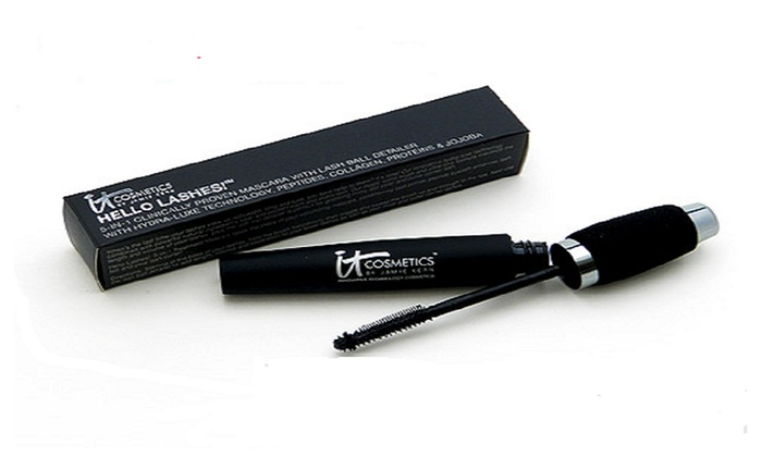c31b1a7a77a IT Cosmetics Hello Lashes 5-in-1 Volumizing Mascara | Groupon