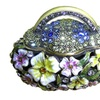 Limited Quantity Year End Clearance Floral Purse Keepsake Box