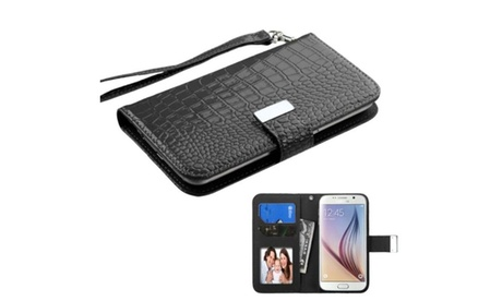 Insten Leather Case For iPhone 6 HTC One LG G2 Optimus Moto Galaxy S6 4841db37-eaa4-446b-a570-348c71aee273