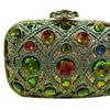 Women's Fashion Dazzling Rhinestone Clutch Bag