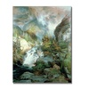 Thomas Moran Children of the Mountain Canvas Print