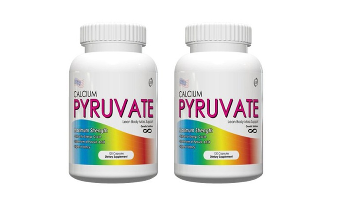 Buy It Now : Calcium Pyruvate- Thermogenic Butt & Thigh Fat Burner,120 Capsules