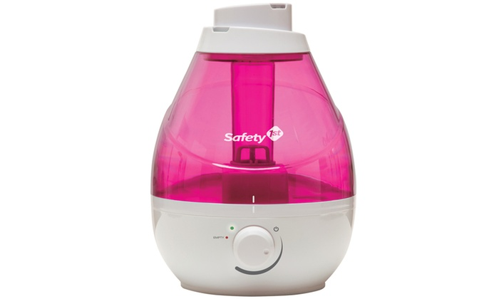 Safety 1st 360 Cool Mist Ultrasonic Humidifier Raspberry