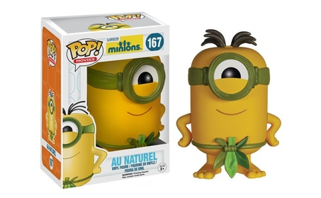 Funko Pop Movies Minions Au Naturel Vinyl Action Figure 2922a4a3-28bd-4872-bb45-8cb21ebff901