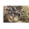 Umberto Boccioni The Charge of the Lancers 1915 Canvas Print