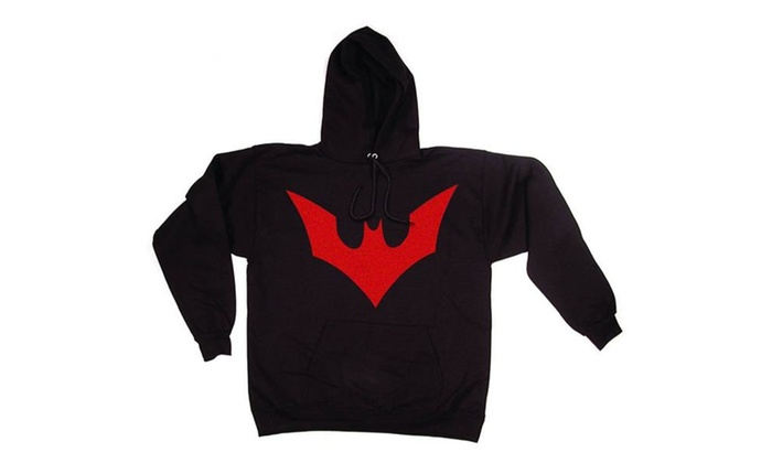 Up To 34 Off On Batman Beyond Symbol Hoodie Groupon Goods