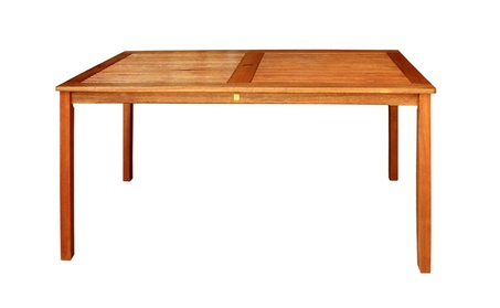 LuuNguyen - Outdoor Hardwood Dining Table (Natural Wood Finish) bdecb29f-1e3b-4585-94fc-4c1a00599b85