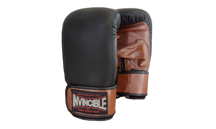 fbe1c74bb130c Invincible Fight Gear Pro Bag Gloves | Groupon