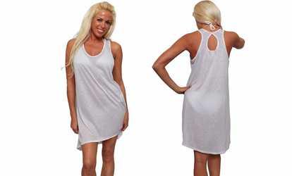 6d44d2ff1db2 Shop Groupon Women s Summer Tank Swimwear Cover-up Beach Dress