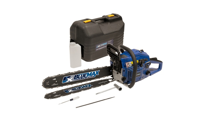 Blue Max 2 in 1   - 14/20 Combination Chainsaw in Protective Case