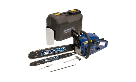 """Blue Max 2 in 1 - 14""""/20"""" Combination Chainsaw in Protective Case 66fe12be-5033-4f2e-ab89-51af352c2684"""