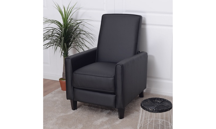 Swell Up To 53 Off On Single Recliner Sofa Pu Leath Groupon Dailytribune Chair Design For Home Dailytribuneorg